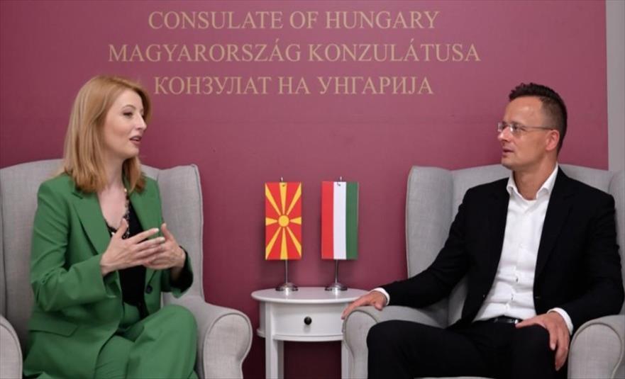 Слика од Сијарто отвори Конзулат на Унгарија во Штип: Зајакнување на економската соработка ќе биде приоритет