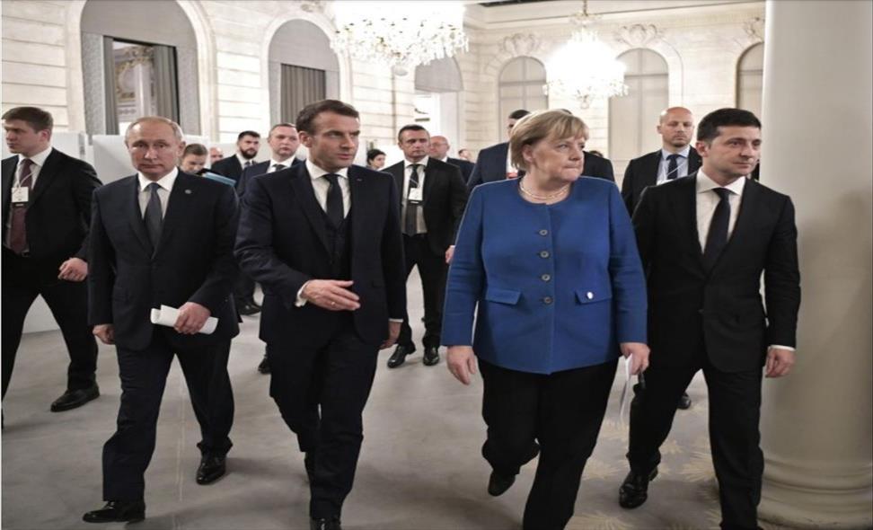 Слика од Франција и Германија предлагаат самит на ЕУ со Путин