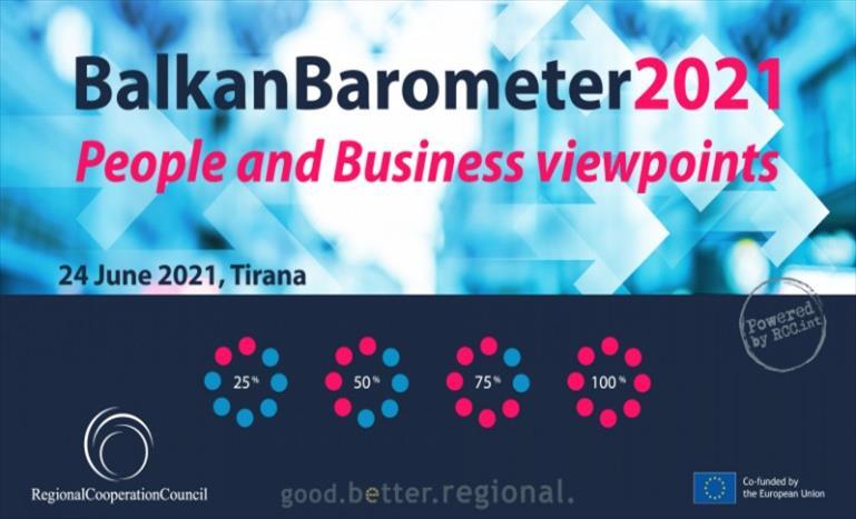 Слика од Советот за регионална соработка ќе го презентира Балканскиот барометар 2021