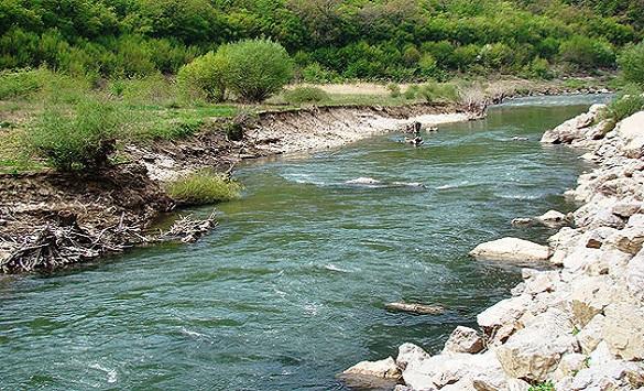 Слика од Повеќето реки со намален водостој