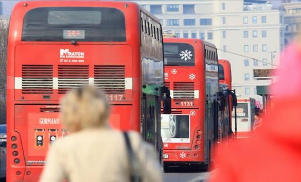 Слика од Изменет режим на сообраќај на повеќе линии на ЈСП