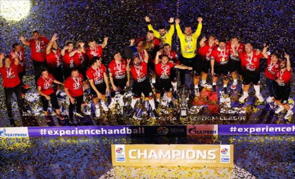 Слика од Четврта титула во СЕХА лигата за Веспрем