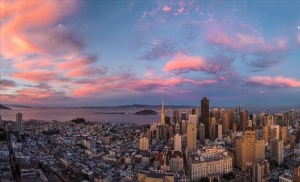 Слика од Сан Франциско прогласен за најдобар град во светот за 2021 година