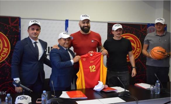 """Слика од Турскиот моден бренд """"Кигили"""" нов спонзор на македонските кошаркари"""