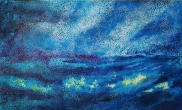 """Слика од Отворена изложбата """"Микро универзум"""" на Марк Јанура"""