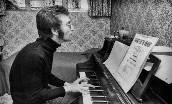 Слика од Аукција на аудиокасета со досега необјавени песни на Џон Ленон