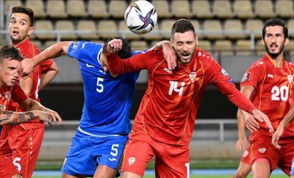 Слика од По трите нерешени средби, пад на македонската фудбалска репрезентација за две места на ФИФА ранг листата