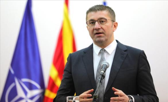 Слика од Мицкоски: Немаме кандидат во Тетово бидејќи уште во првиот круг ќе го поддржиме кандидатот на ААА-АА