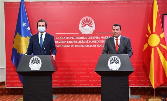 Слика од Ги почитуваме одлуките на Косово, кажа Заев за одбивањето на Косово да се приклучи кон Отворен Балкан