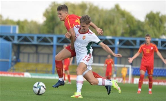 Слика од Македонските фудбалски надежи ремизираа и во вториот контролен дуел со Унгарија