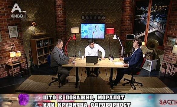 Слика од Николоски: Власта ја брани оставката на Филипче бидејќи функционираат по истиот принцип како и секоја мафија