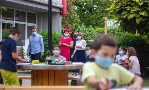"""Слика од ОУ """"Димо Хаџи Димов"""" во Влае меѓу училиштата со инклузивна настава"""