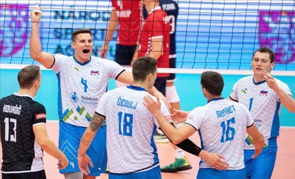 Слика од ЕП во одбојка: Словенија и Италија во денешното финале