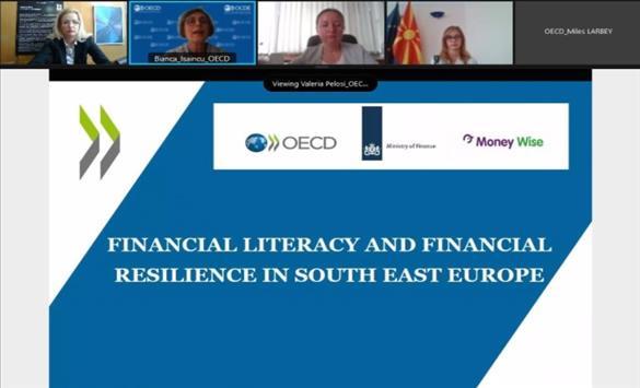 Слика од Анкета на ОЕЦД: Народната банка со највисока доверба во регионот, како институција којашто овозможува финансиска едукација