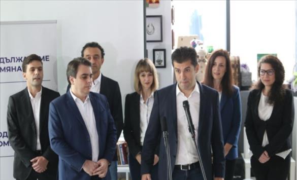 """Слика од Поранешните технички министри, Кирил Петков и Асен Василев, го претставија својот политички проект """"Продоложуваме со промената"""""""