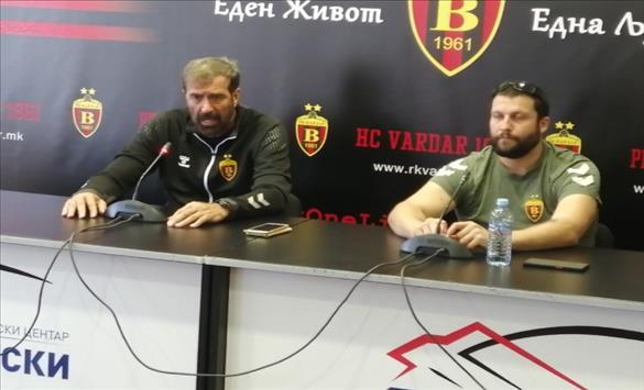 Слика од Вујовиќ: Ќе го оставиме срцето на теренот за да извојуваме победа над Мешков Брест