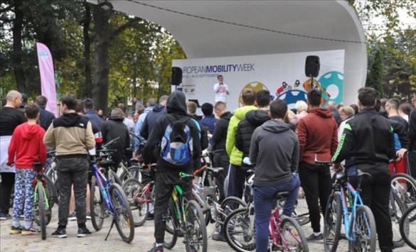 Слика од Македонија го одбележа денот без автомобили