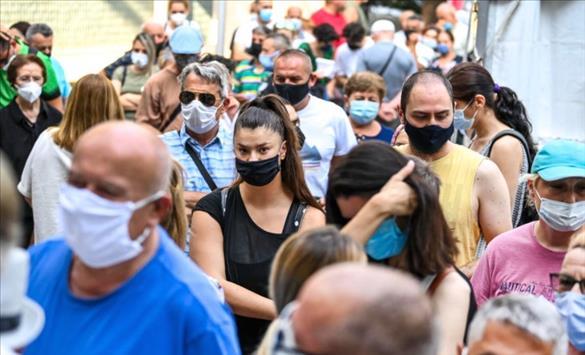 Слика од 16 починати лица вчера, регистрирани и дополнителни 6 смртни случаи, 491 нов случај на Ковид-19 во Македонија