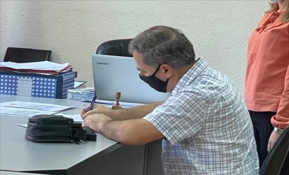 Слика од Кодексот за фер и демократски избори во ОИК Кичево го потпиша само еден кандидат за градоначалник