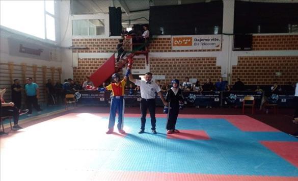 Слика од Kик боксерот Павел Стојчевски освои два сребрени медали на Балкан Опен 2021