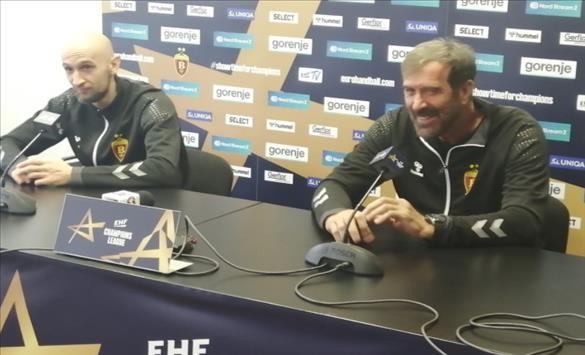 Слика од Вујовиќ пред мечот со Алборг: Сите во клубот сме оптимисти