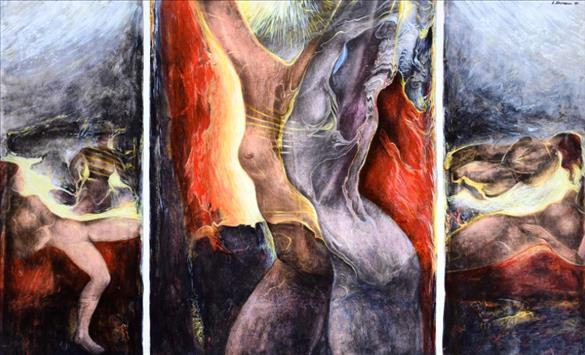 Слика од Пет децении творештво на тетовскиот ликовен уметник Александар В. Настески