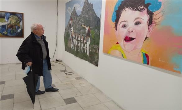 Слика од Отворена годишната изложба на Друштвото на ликовните уметници од Прилеп