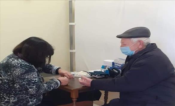Слика од Во клубот на пензионери од Крива Паланка отворен здравствен пункт
