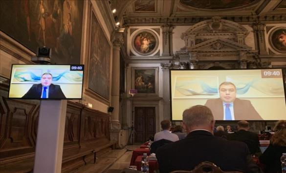 Слика од Маричиќ го претстави Предлог-законот за вонредна состојба пред Венецијанската комисија
