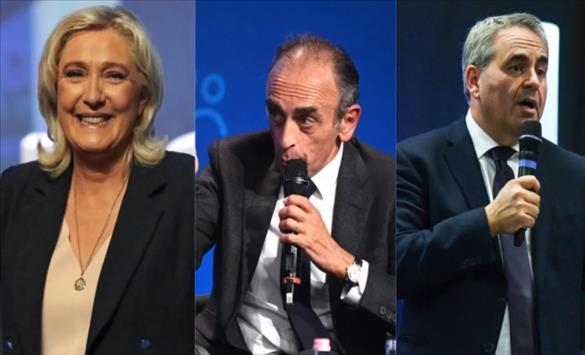Слика од Анкети за претседателски избори во Франција 2022: Макрон сè уште во водство, Ле Пен, Земур и Бертран се следат
