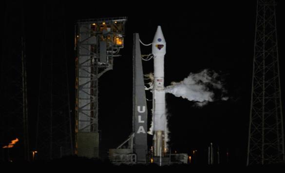 Слика од Лансирана сондата Луси кон Јупитер