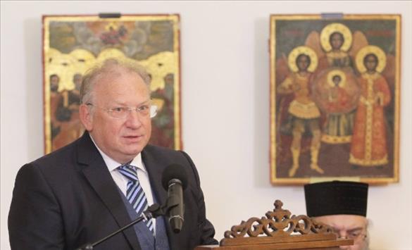 Слика од Стоев ја поздравува идејата за формирање на партија на Бугарите во Македонија