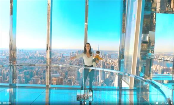 """Слика од Прошетка """"низ воздухот"""" во Њујорк"""