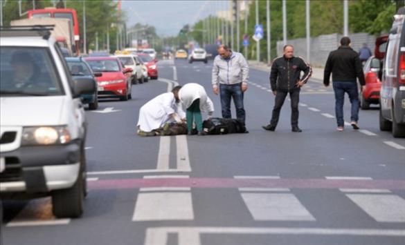 Слика од Прегазен пешак во Тетово