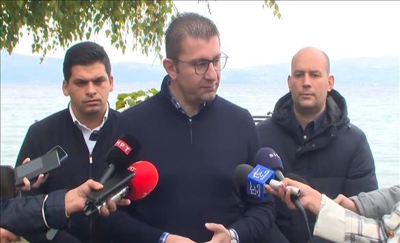 Слика од Мицкоски: Извештајот на ЕК потврдува корупција кај Владата и недостаток на реформи
