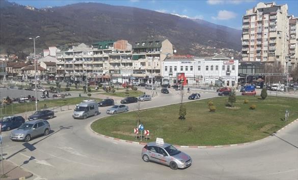 Слика од СВР Тетово го пронајде возачот кој повредил пешак па избегал од местото на настанот