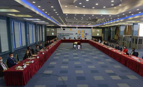 Слика од Во Охрид Регионална конференција за реадмисија и зајакнување на капацитетите на структурите поврзани со миграцијата во Западен Балкан