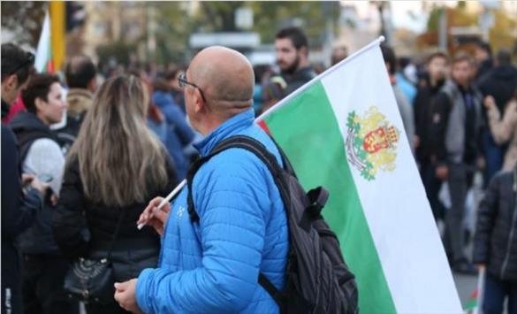 Слика од Во Бугарија протест против зелениот сертификат
