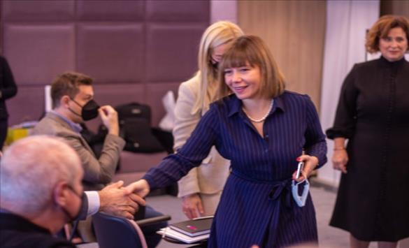 Слика од Царовска: Со унапредување на системот на евалуација до поквалитетно високо образование