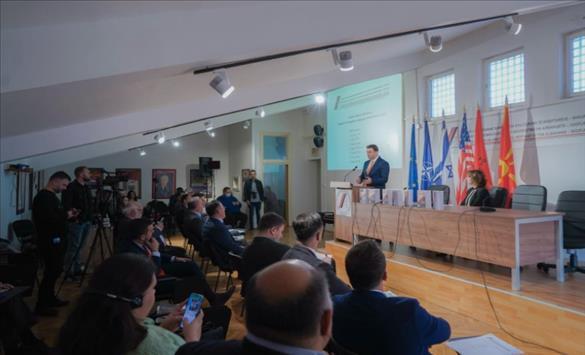 Слика од Османи: Интеграцијата на Западниот Балкан во ЕУ е најрационално и најлогично сценарио