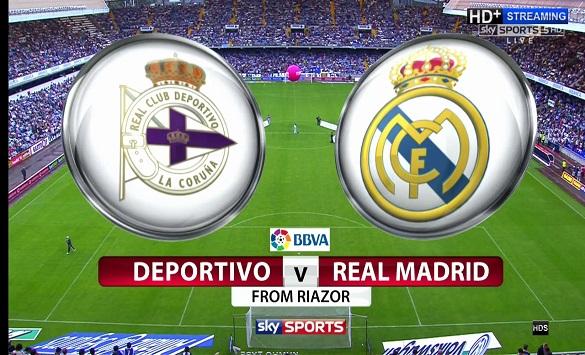 Типко: Депортиво ла Коруња - Реал Мадрид