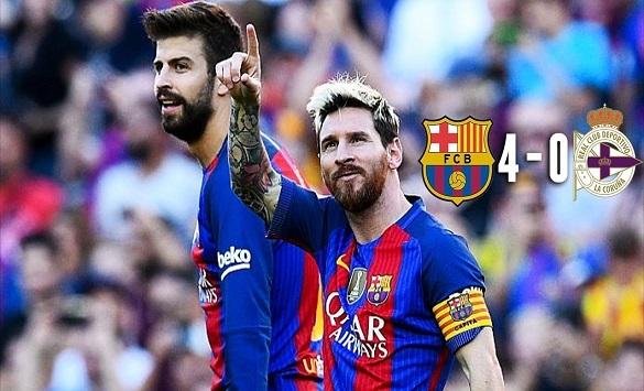 Слика од Добитници на ваучери од натпреварот Барселона - Депортиво ла Коруња