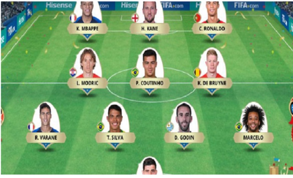 Слика од Фановите го избраа идеалниот тим на Светското првенство